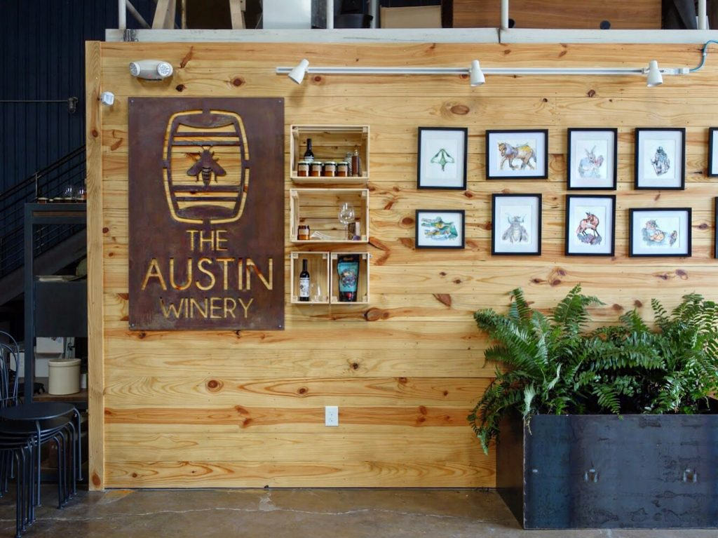 The Austin Winery Entrance