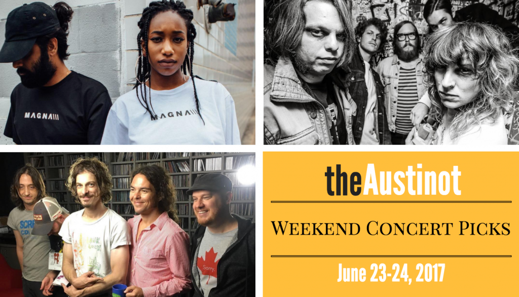 Austin Weekend Concert Picks June 23