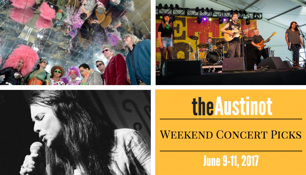 Austinot Weekend Concert Picks June 9