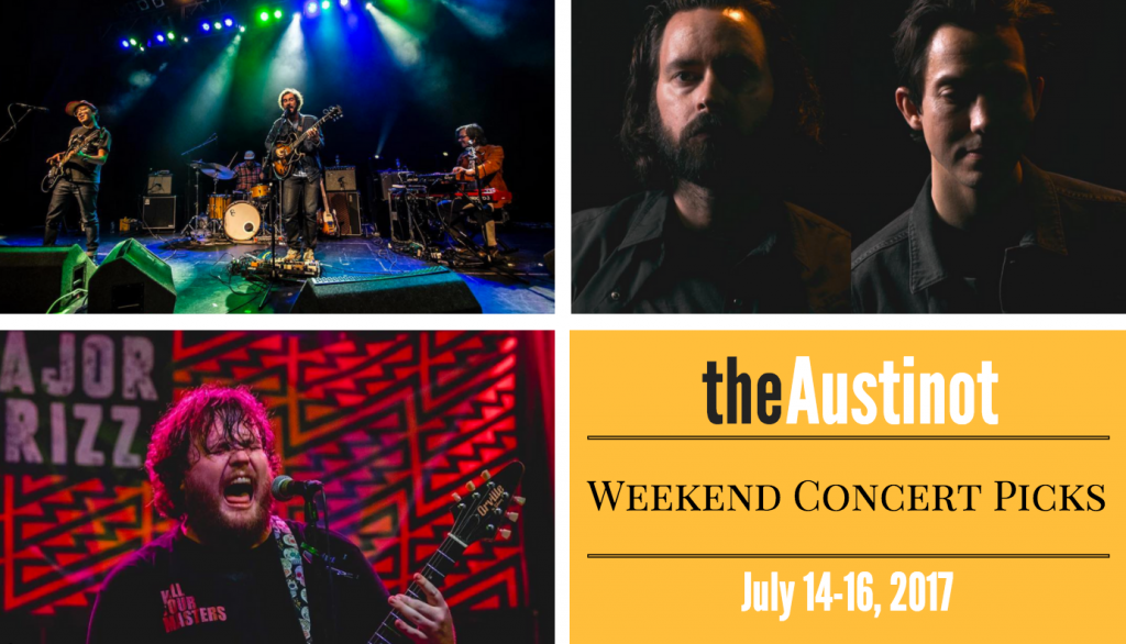Austinot Weekend Concert Picks July 14