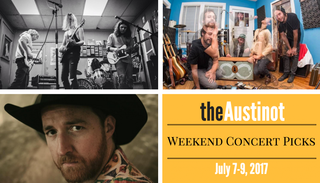 Austinot Weekend Concert Picks July 7, 2017