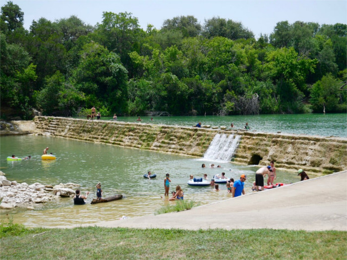Blanco State Park Swimming Hole