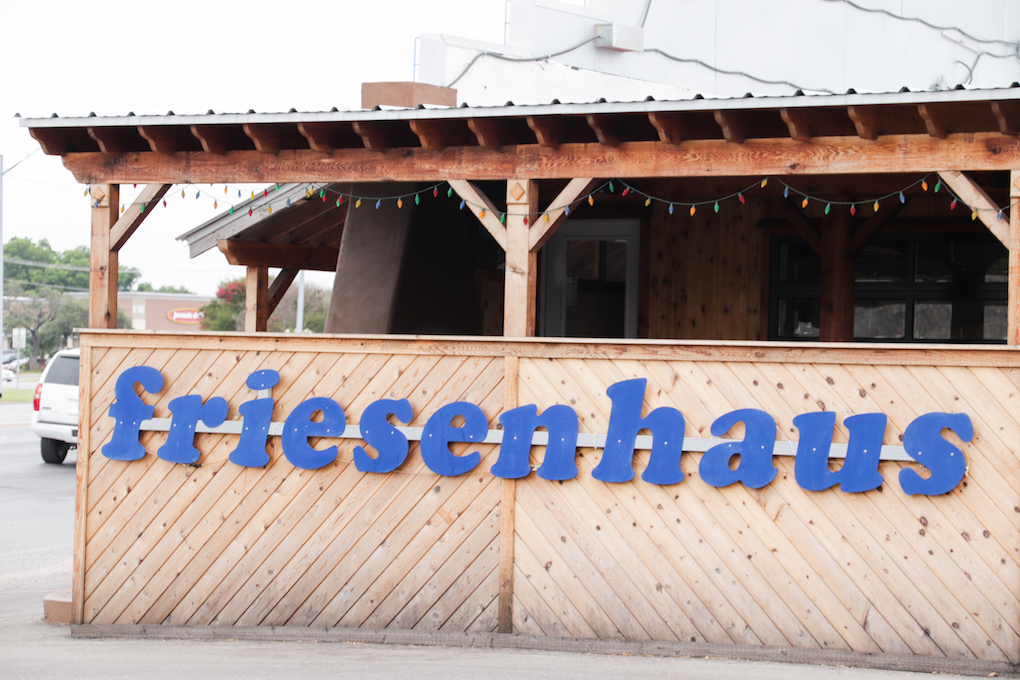 German food at Friesenhaus in New Braunfels