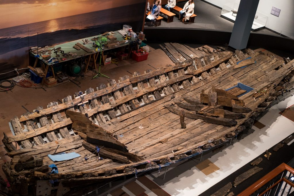 La Belle Shipwreck at Bullock Texas State History Museum