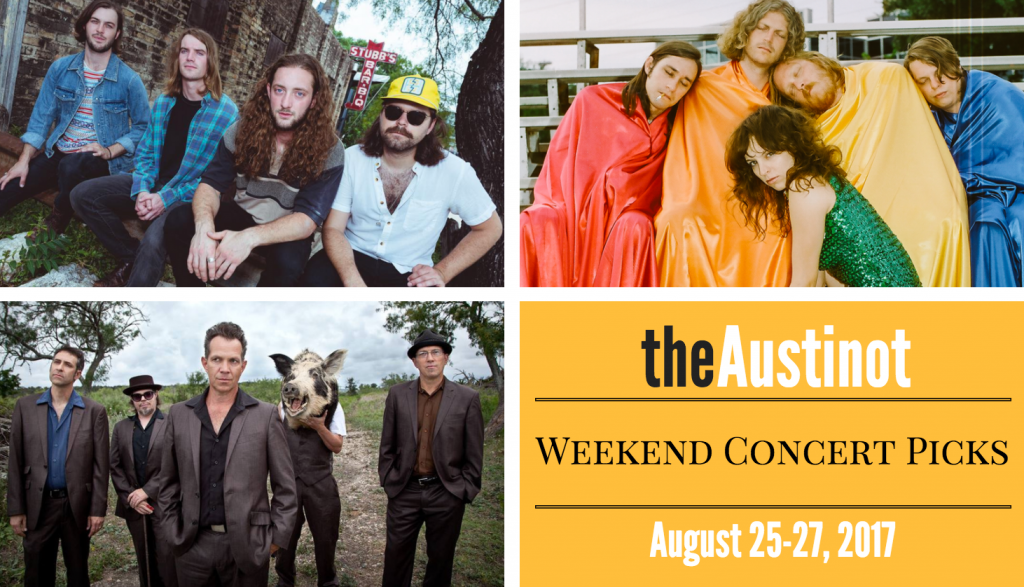 Austinot Weekend Concert Picks August 25