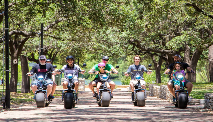Your Biker Gang Tour of Austin