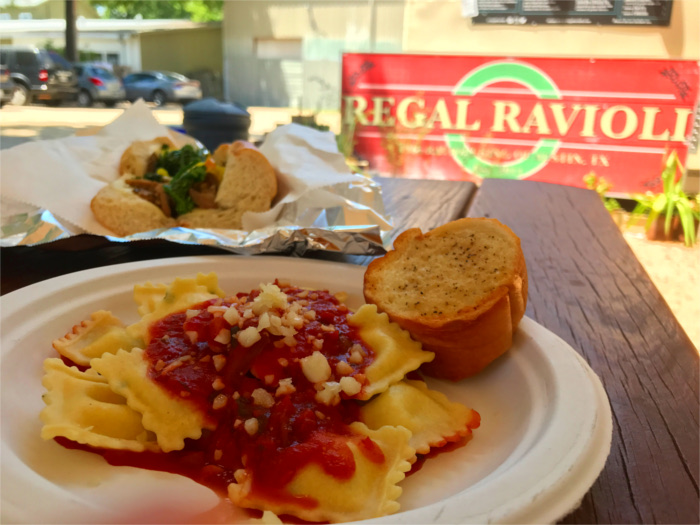 Regal Ravioli Italian Food Trucks in Austin