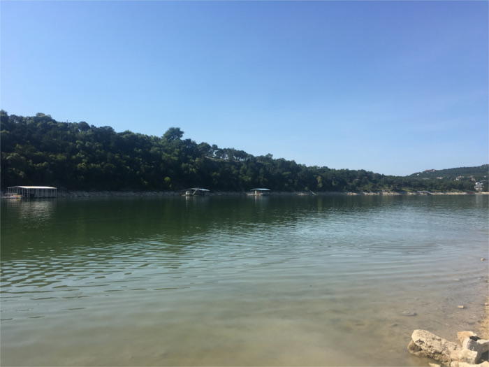 Jones Brother's Park Swimming Lake Travis