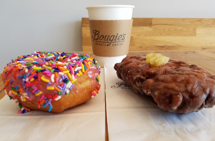 Bougie's Donuts Homer and Apple Fritter