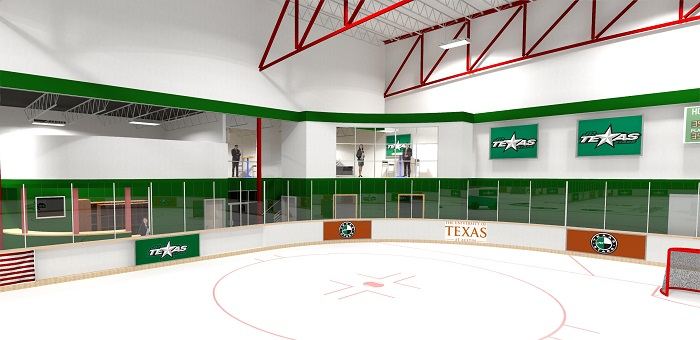 Chaparral Ice Renovations 3D Rendering