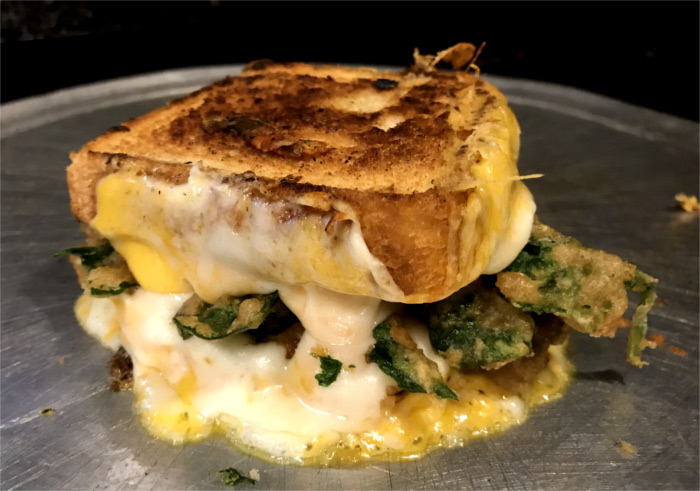 King of Grilled Cheese Sandwiches at Ladybird's Austin Kitchen