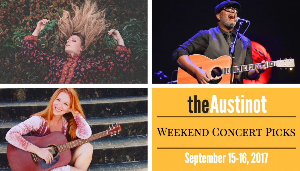 Austinot Weekend Concert Picks Sept 15