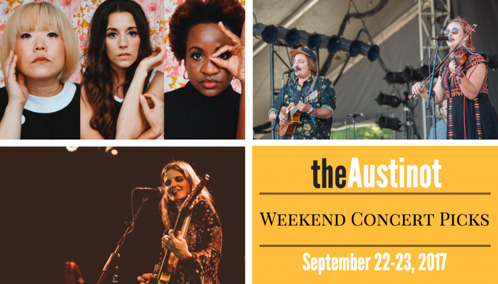 Austinot Weekend Concert Picks Sept 22-23