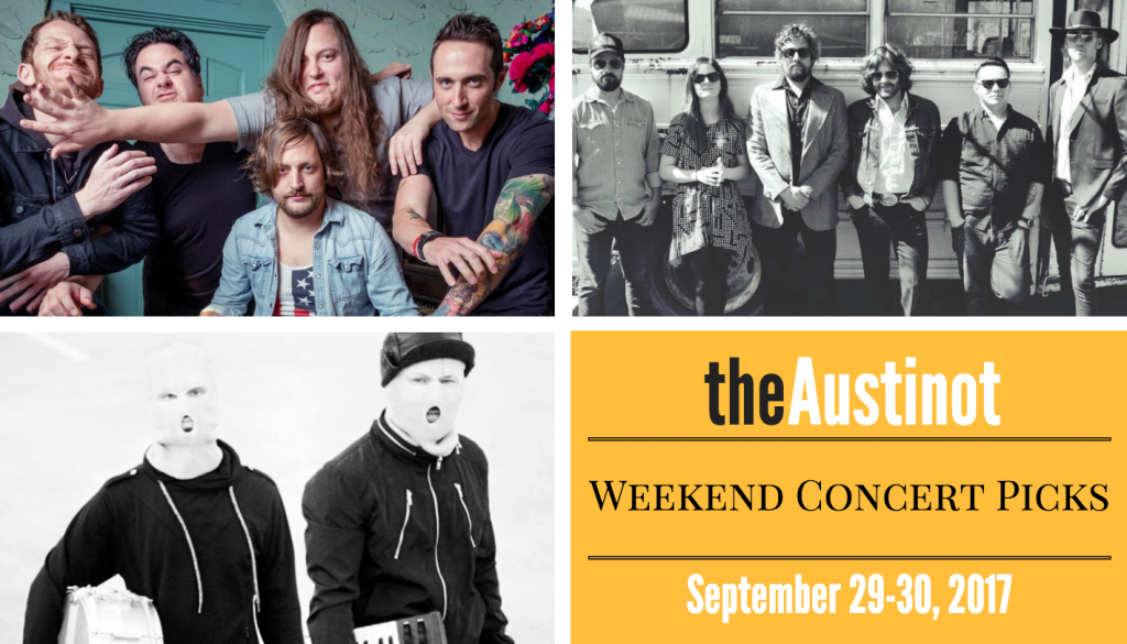 Austinot Weekend Concert Picks Sept 29
