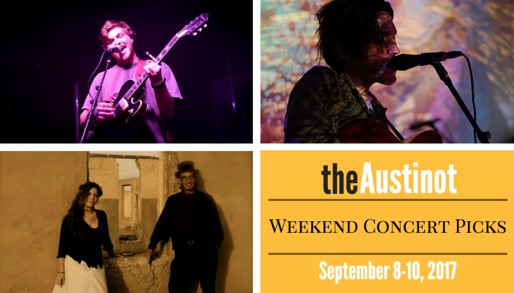 Austinot Weekend Concert Picks September 8