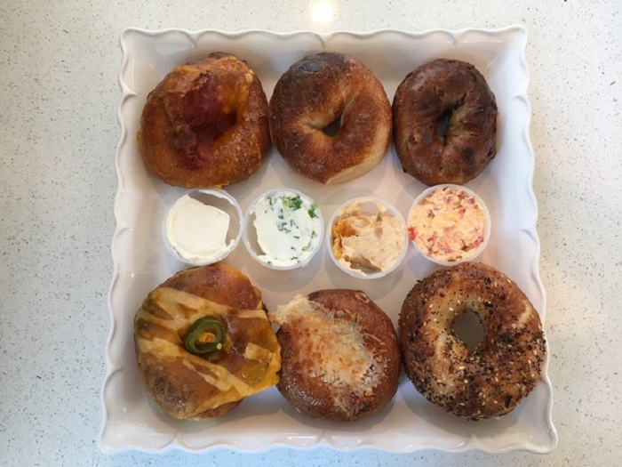 Clark's & Father Bagel Flavors in Austin