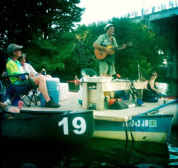 Live Music During Moonlight Bat Float