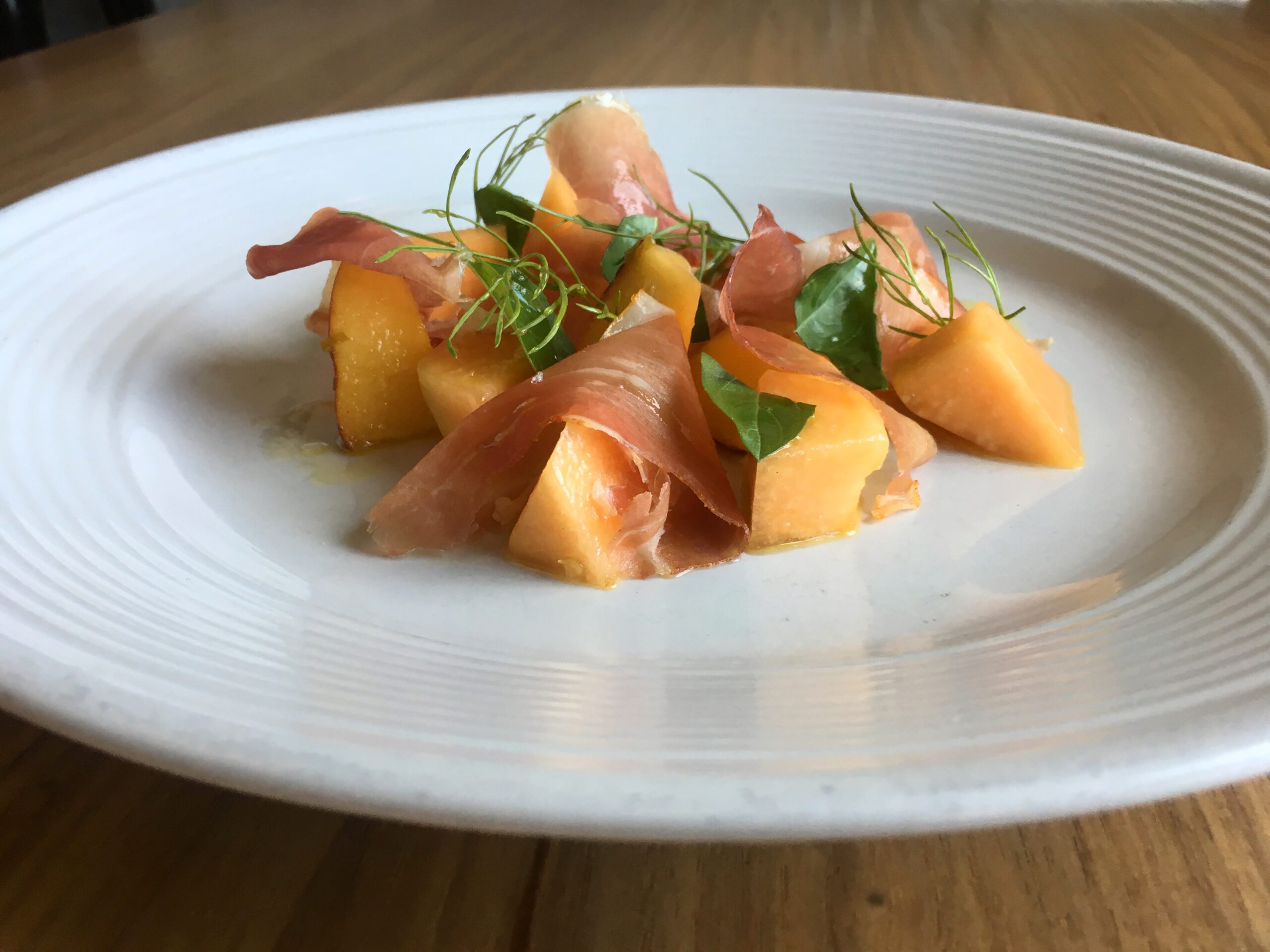 Melon and Prosciutto Salad by Bufalina Due