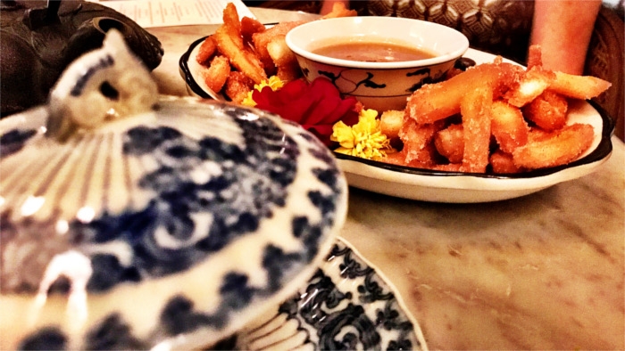 Asian Churros at Ah Sing Den