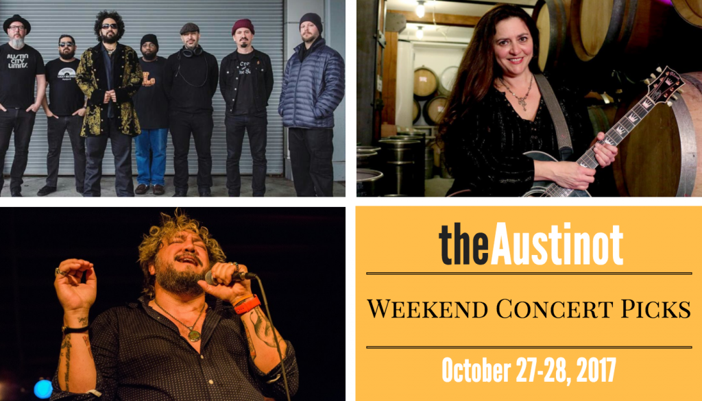 Austinot Weekend Concert Picks Oct 27
