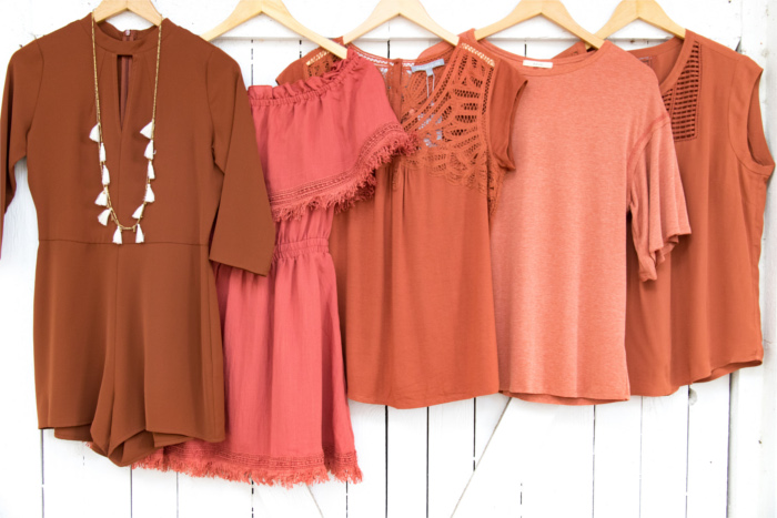 Adelante Burnt Orange Boutique Austin