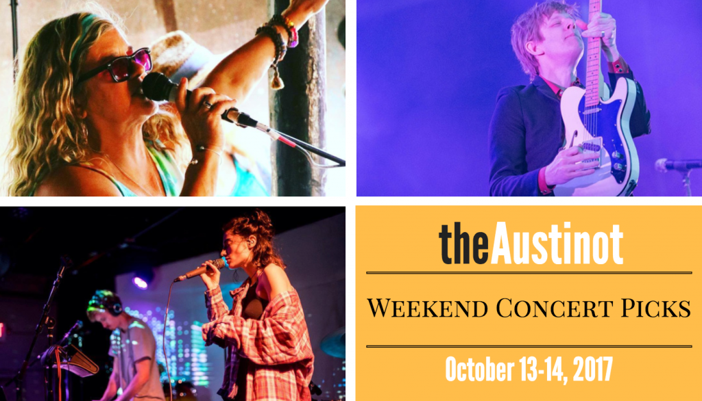 Austinot Weekend Concert Picks Oct. 13