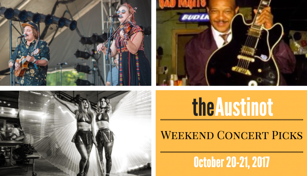 Austinot Weekend Concert Picks October 20