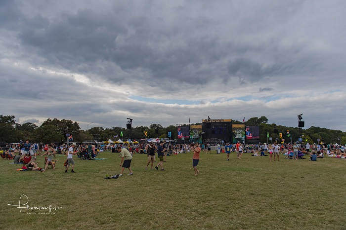 Stormy Skies Above ACL Fest 2017