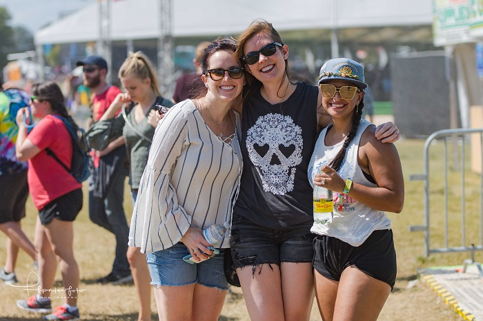 Friends at ACL Fest 2017