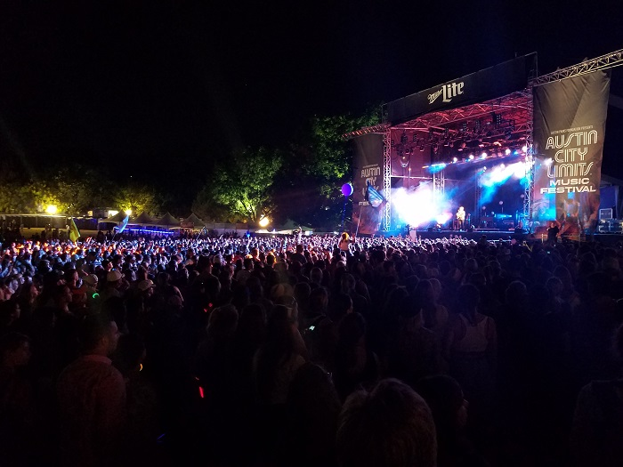 ACL Stage at Night