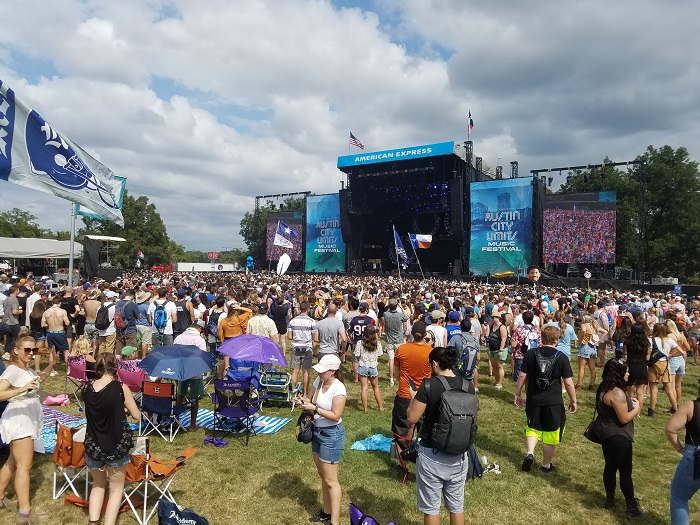 AMEX Stage ACL Fest 2017