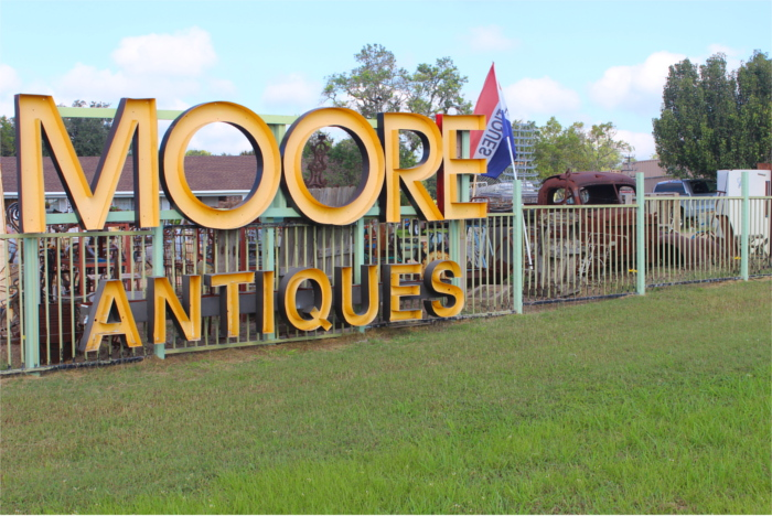 Moore Antiques in Round Top