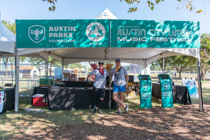 Austin Parks Foundation at ACL Fest