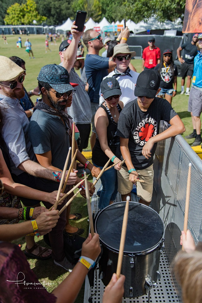 Mobley Drum Circle at ACL Fest