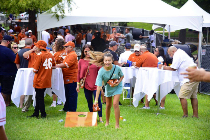 UT Club Tailgating in Austin