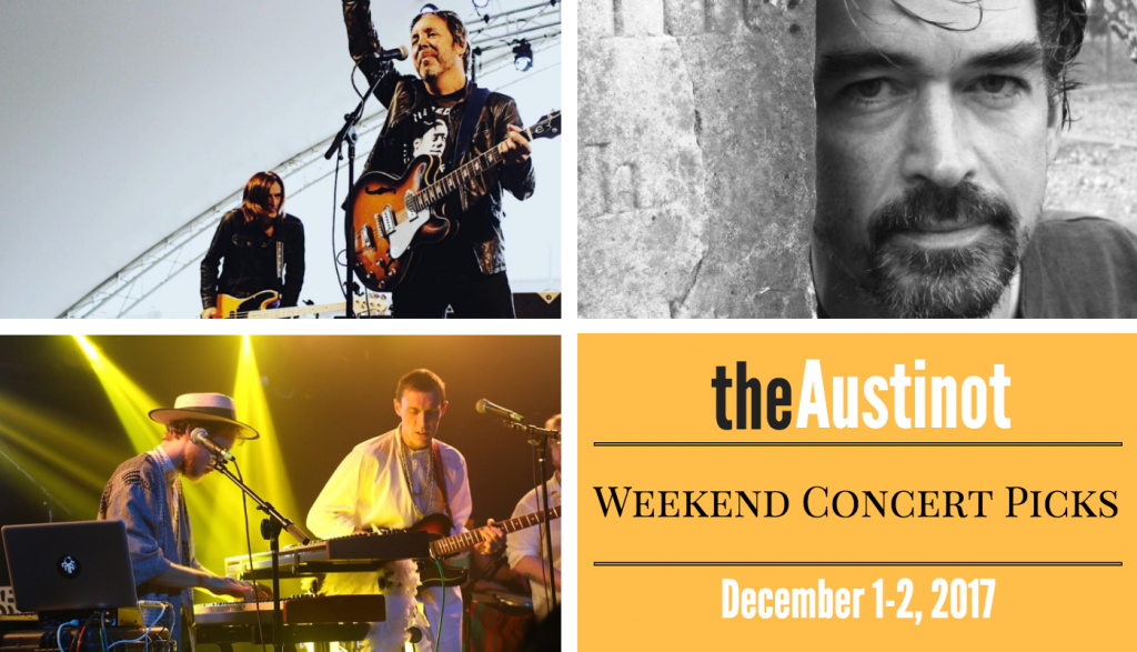 Austinot Weekend Concert Picks Dec. 1-2