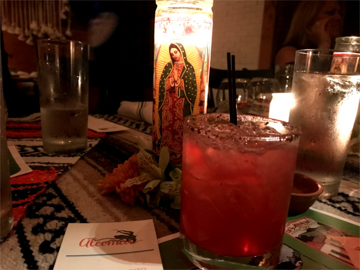 Coyoacan Mezcal Cocktail at Alcomar