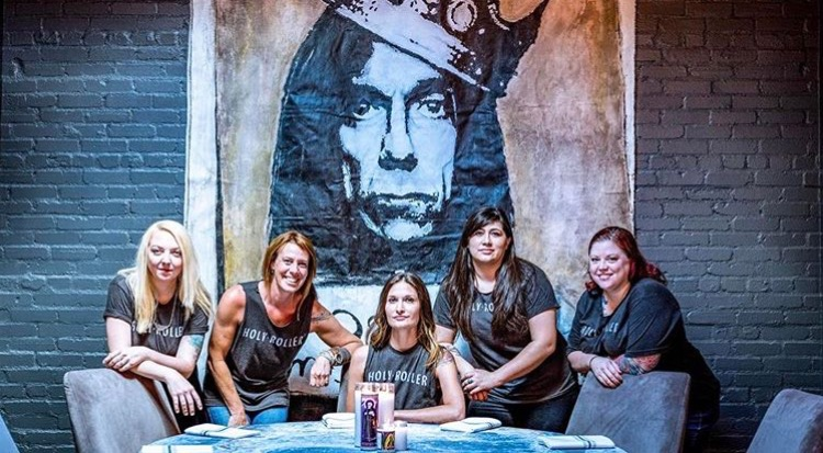 Holy Roller All Female Restaurant Team