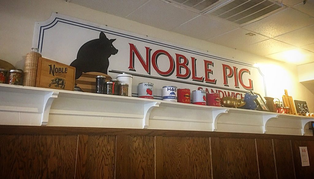 Noble Sandwich Company Decor in North Austin