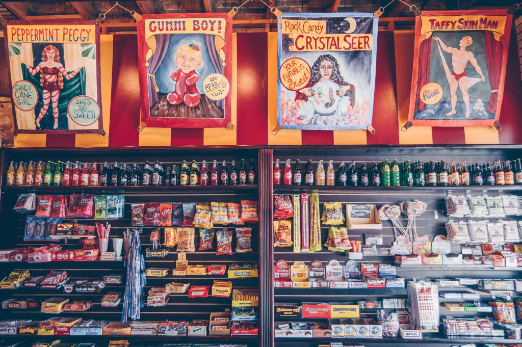 Big Top Candy Shop Soda and Candy