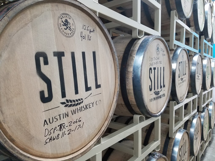 Still Austin Whiskey Barrels