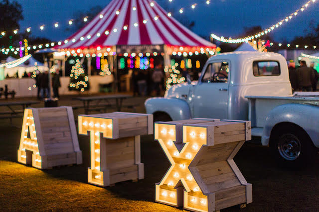 Trail of Lights 2017 in Austin, Texas