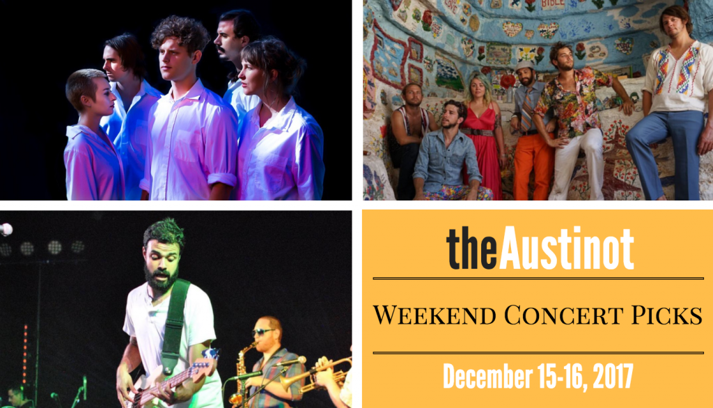 Austinot Weekend Concert Picks Dec 15
