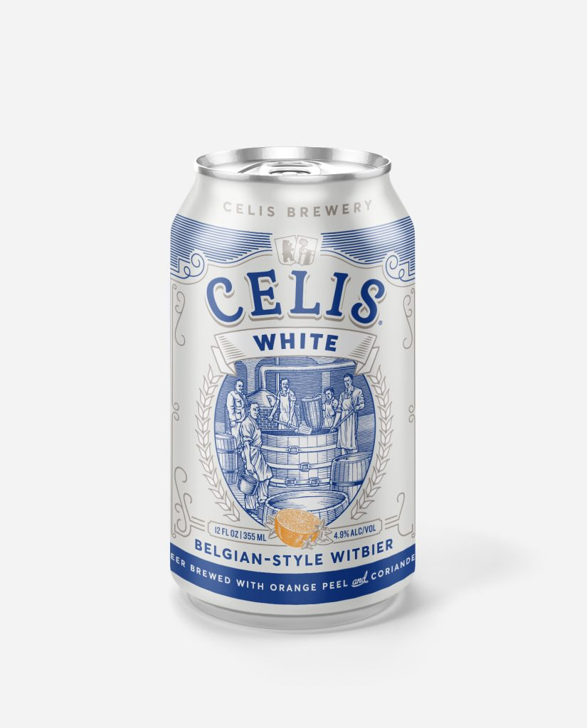 Celis Redesigned White Can