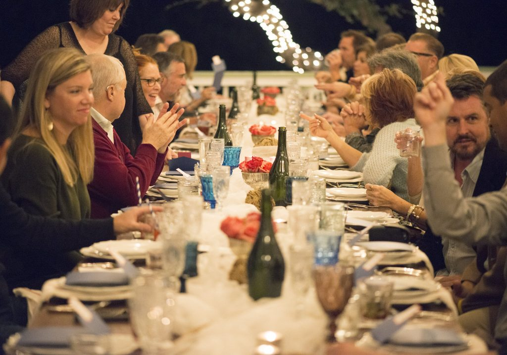 One Long Table Supper Club in Austin