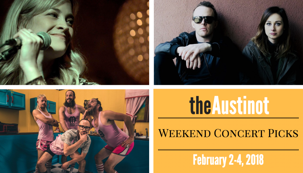 Austinot Weekend Concert Picks Feb 2