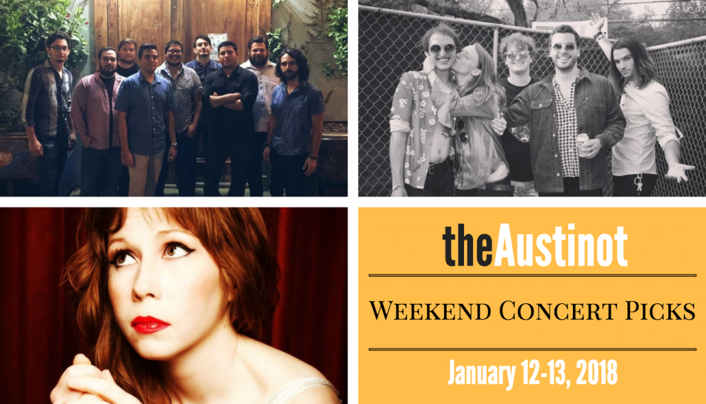 Austinot Weekend Concert Picks Jan 12