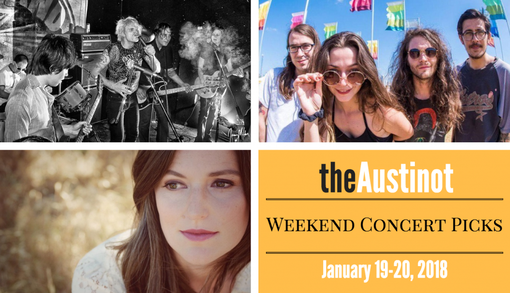 Austinot Weekend Concert Picks Jan 19
