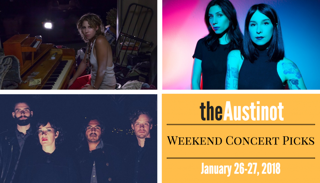 Austinot Weekend Concert Picks Jan 26, 2018