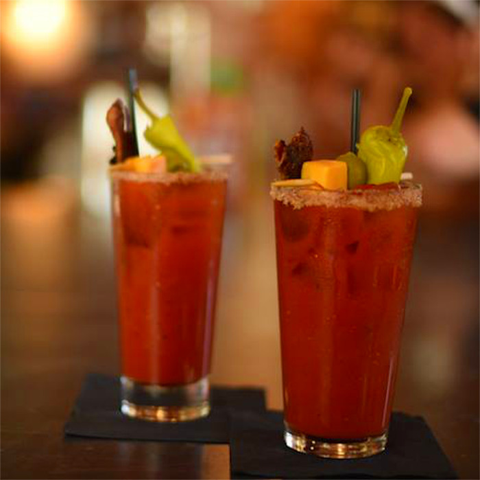 Red Headed Stranger Bloody Mary at Frank